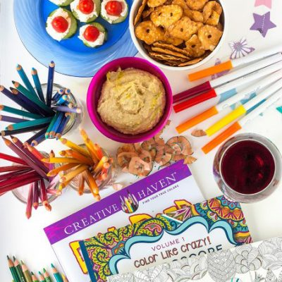 Come on, Get Crafty: Host an Adult Coloring Party!