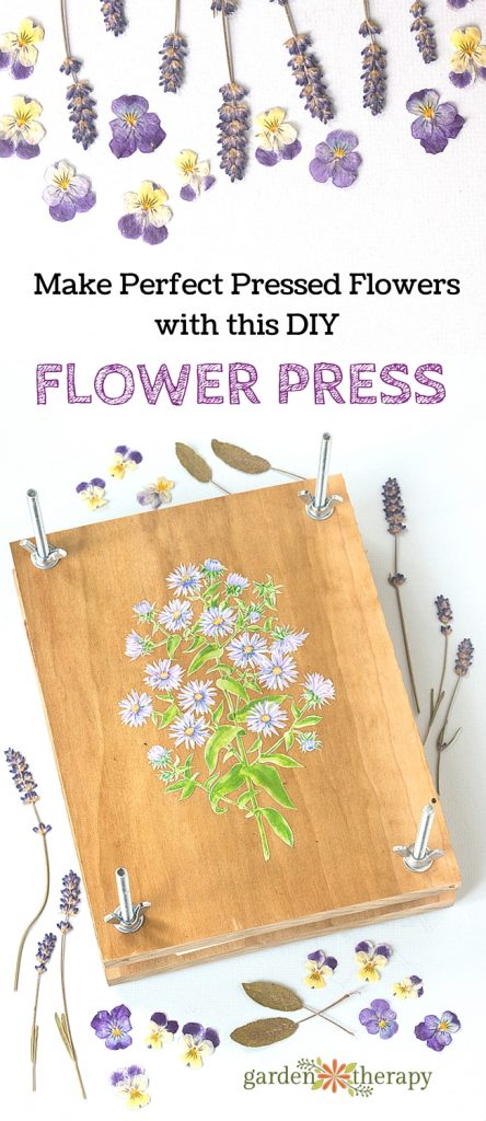 Woodworking for Gardeners: Make a Handmade Flower Press