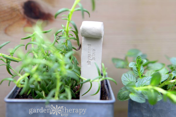 All You Need is Love Clay Plant Tag