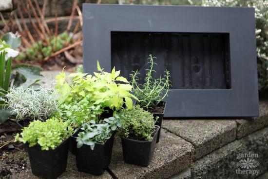 Chalkboard Vertical Planter