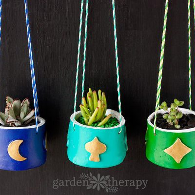 Rainy Day Gardening: Make This Indoor Hanging Clay Planter