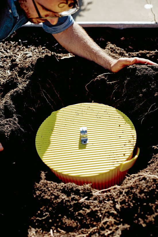 Make a Worm Plunger - a DIY vermicomposter for small spaces (4)