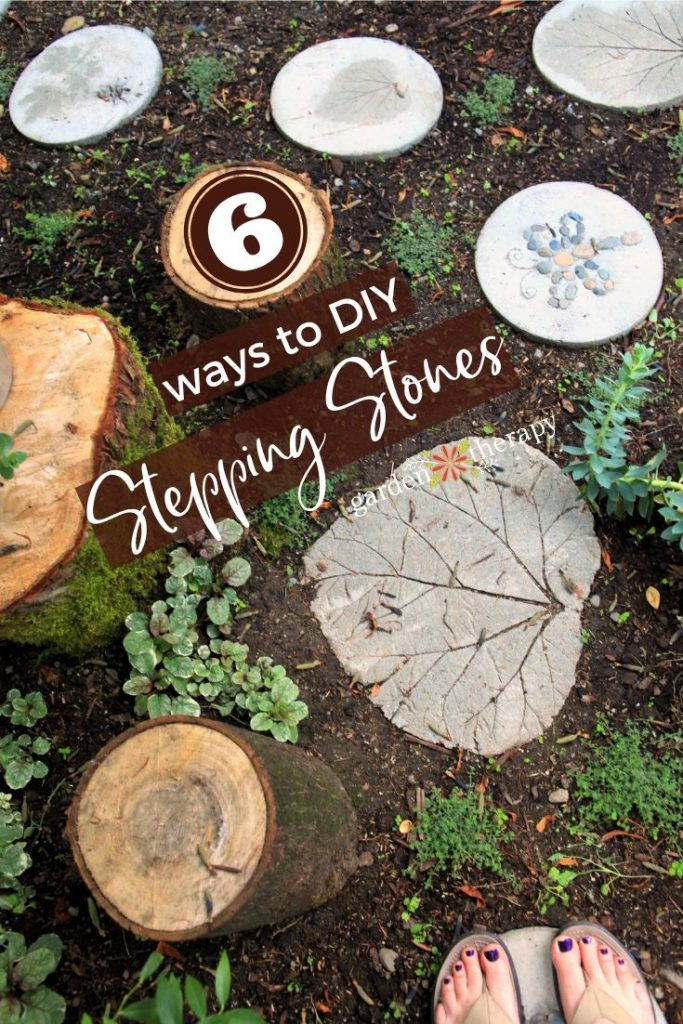 6 Ways to Make DIY Stepping Stones