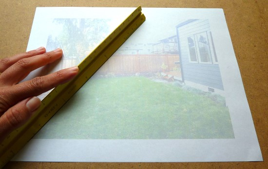 How to Create a Garden Perspective Drawing at Home Step (1)