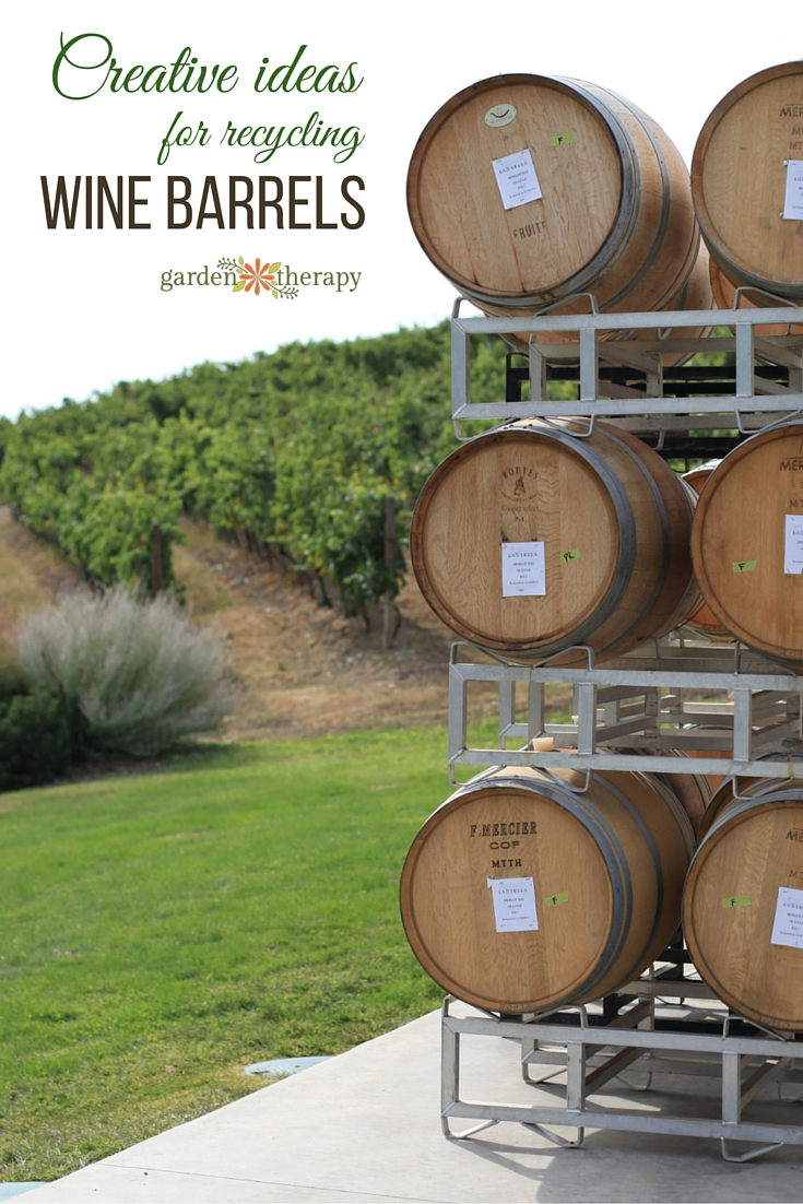 Lots Of Creative Ideas To Use Wine Barrels Both Indoors And Out