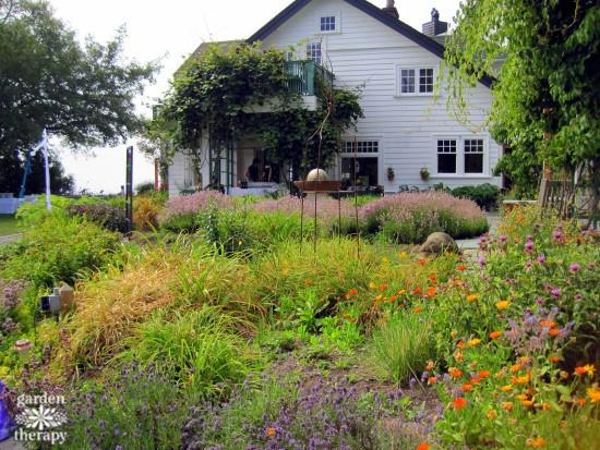Sooke Harbour House Garden