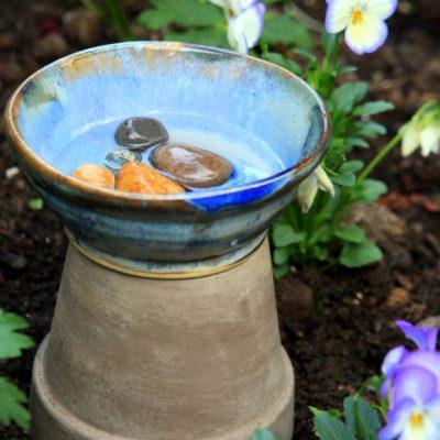 Bee a Good Garden Host: Make a Bee Bath