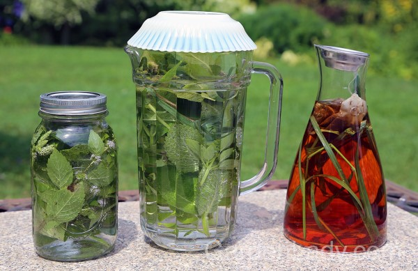 Sun Teas for a Cocktail Hour Garden