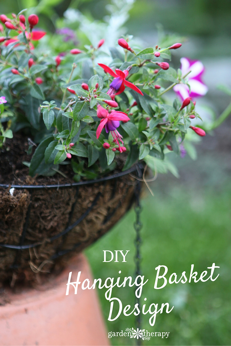 Take the Mystery Out - Design Hanging Baskets Like a Pro with these tips