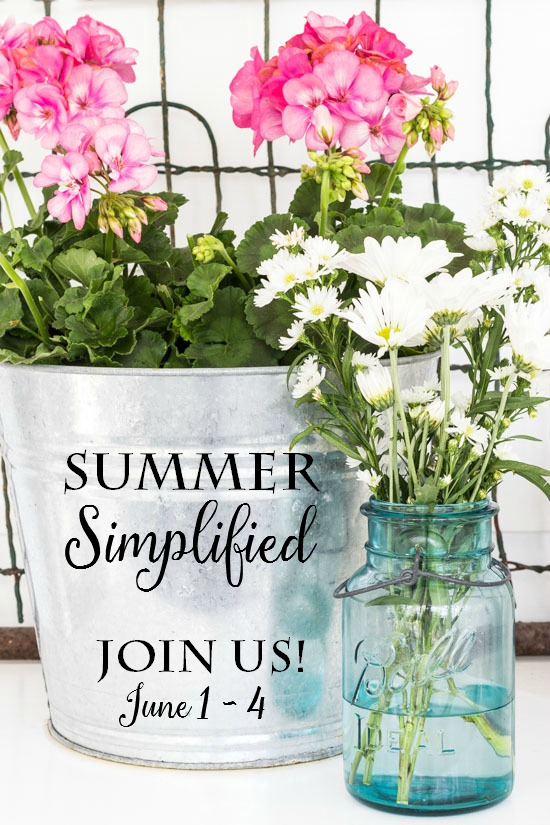 summer simplified graphic