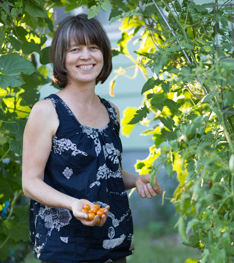 Megan Cain Creative Vegetable Gardener