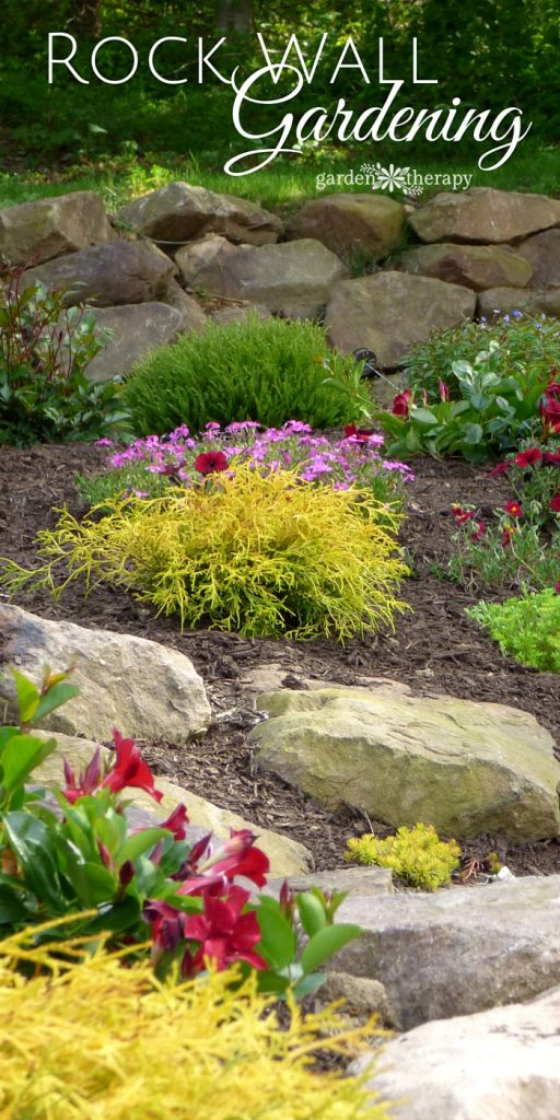Creating Beauty and Structure with a Rock Wall Garden