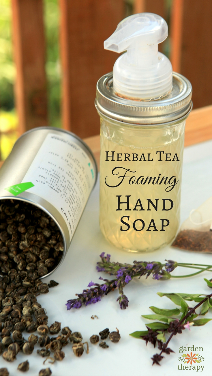 A Luxurious Herbal Tea Hand Soap Recipe