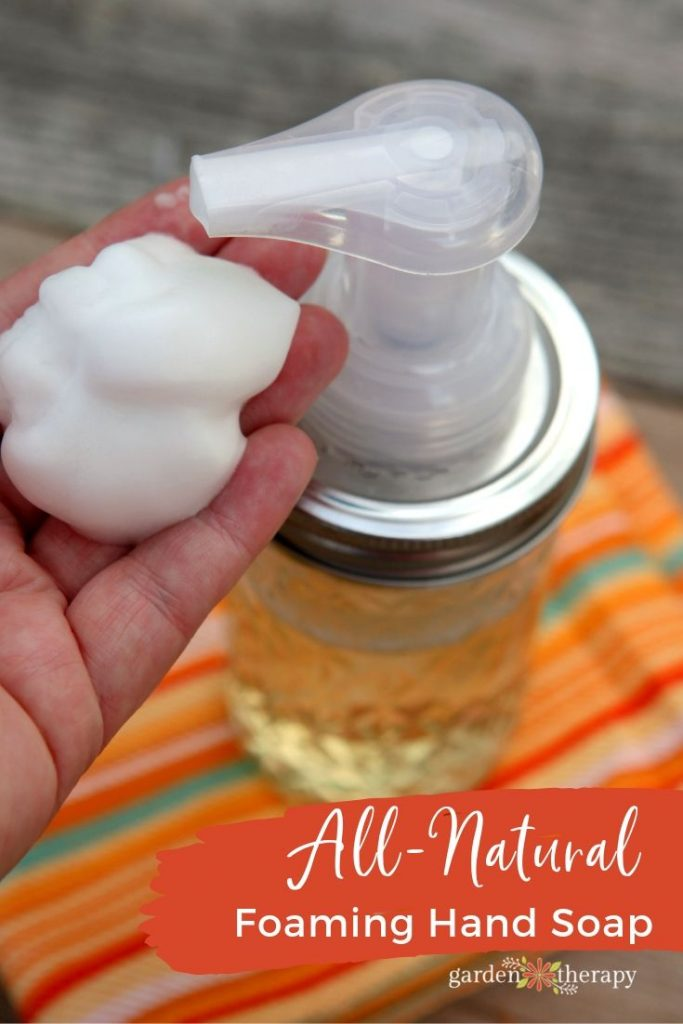 DIY Foaming Hand Soap Recipe with Natural Ingredients