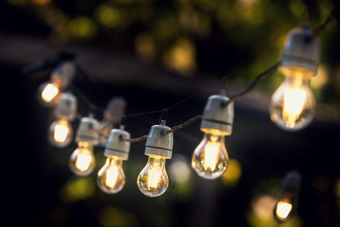 patio bulb lights