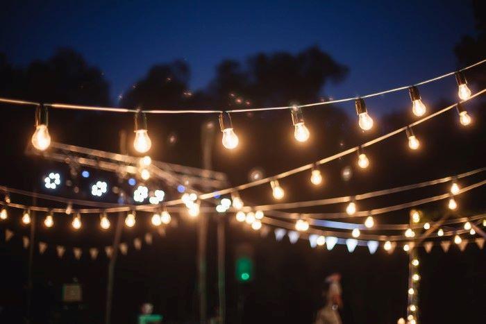 overhead patio lights