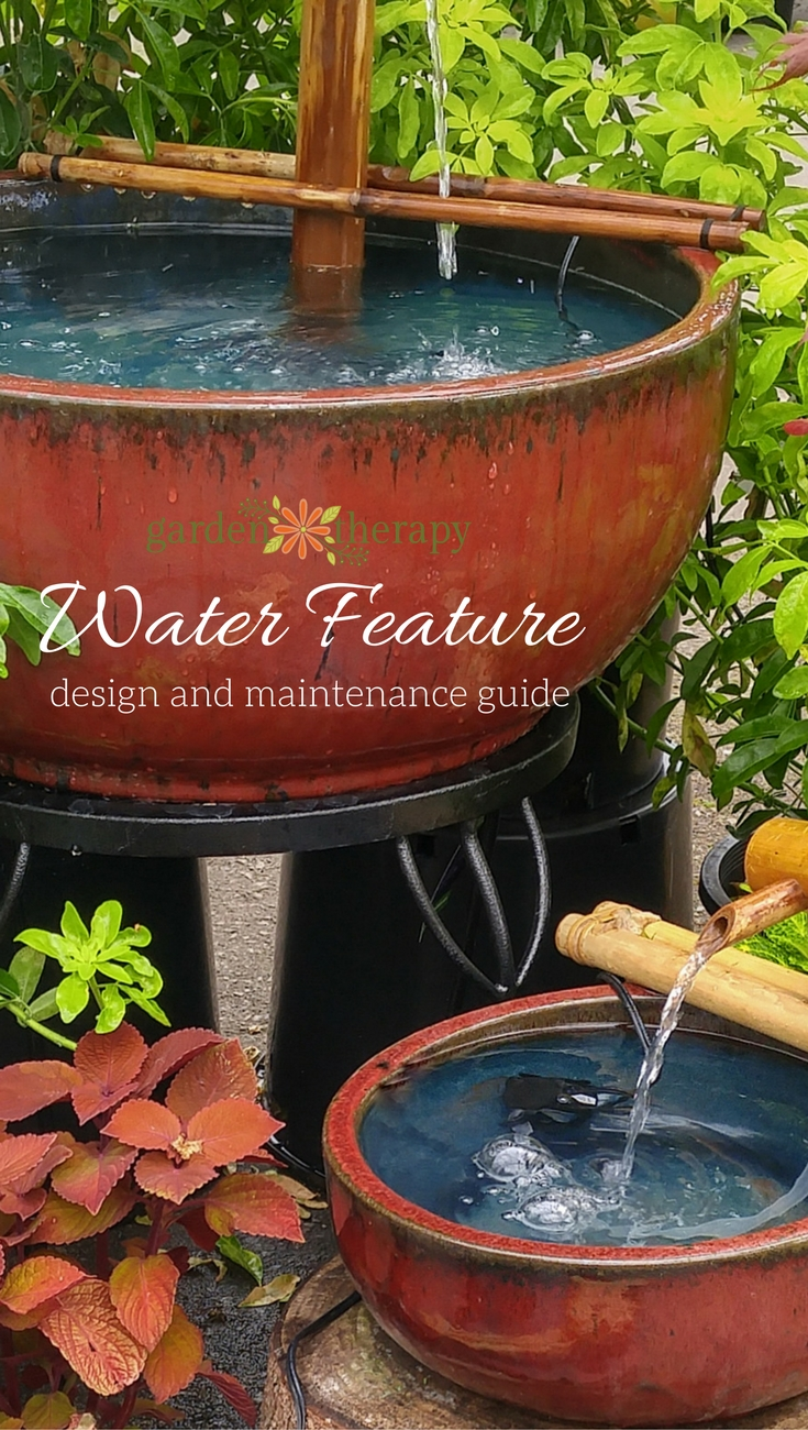 A great resource for choosing and caring for a water feature including ponds, waterfalls and fountains