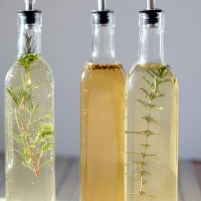 How to Make Artisanal Herb-Infused Vinegar