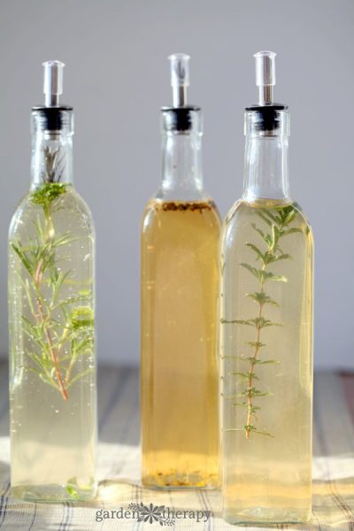 Herb Infused Vinegar Recipes for preserving