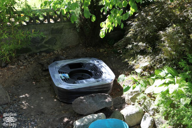 How to Install a Disappearing Fountain Step (2)