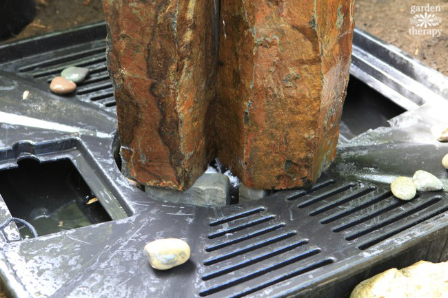 How to Install a Disappearing Fountain Step (4)