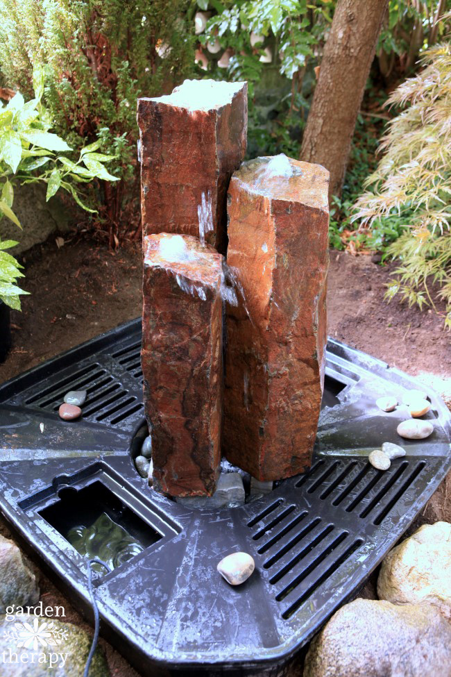 How to Install a Disappearing Fountain Step (5)