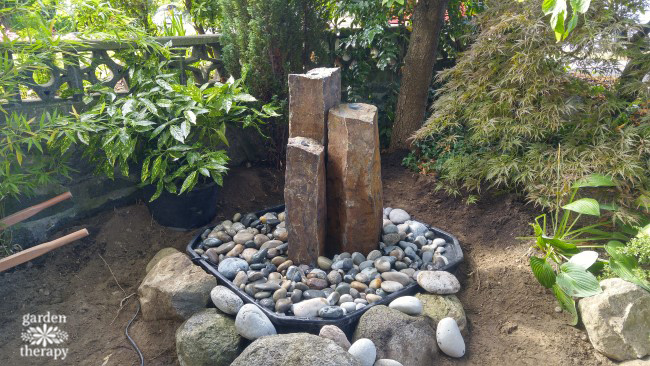 How to Install a Disappearing Fountain Step (9)