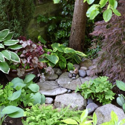 The Garden Fountain That Completely Transformed a Shady Front Yard Space
