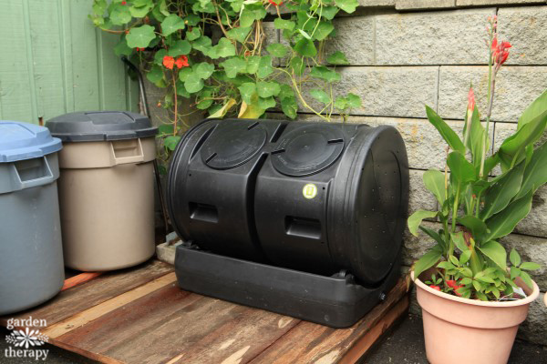 composting station makeover project