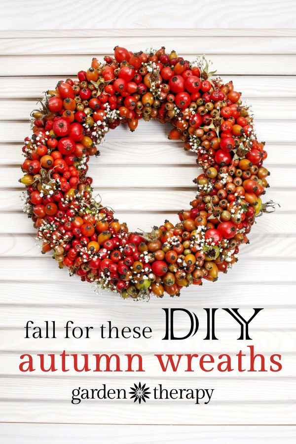 Fall for these gorgeous DIY autumn wreaths