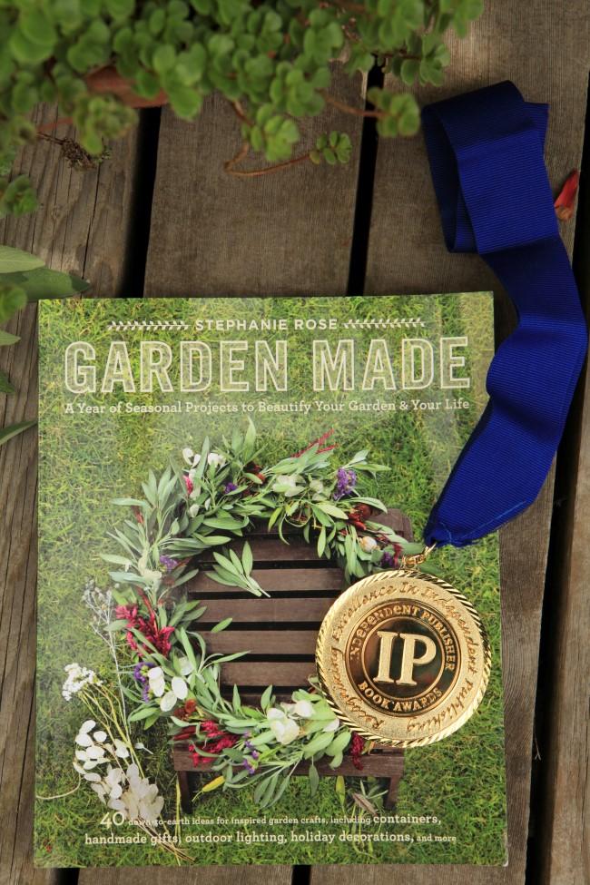 Garden Made Gold Medal Independent Publisher Book Awards 2016