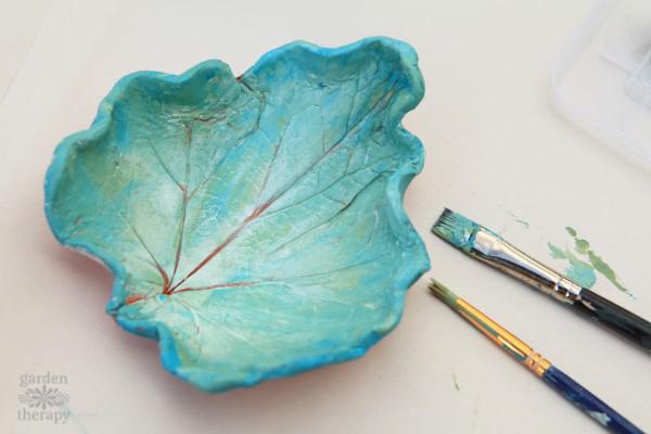 Clay Leaf Bowls 2