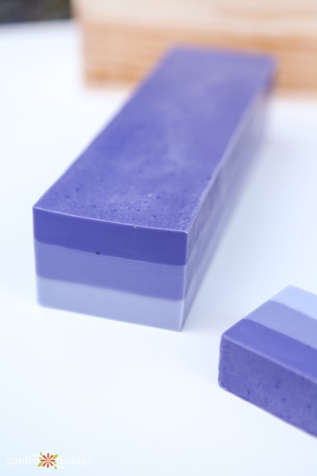 Cutting Ombre Soap