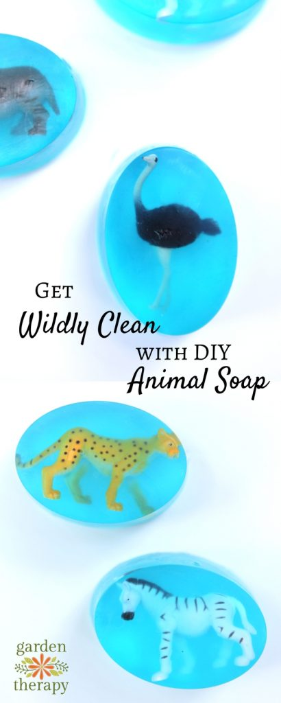 Get Wildly Clean with these DIY Animal Soaps!