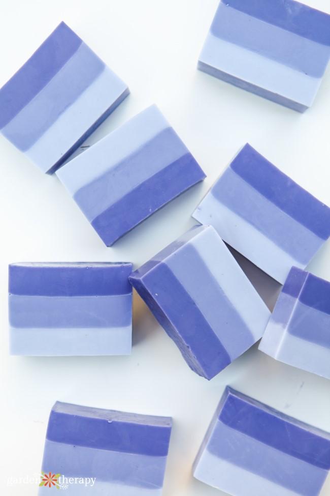 Lavender Ombre Soap
