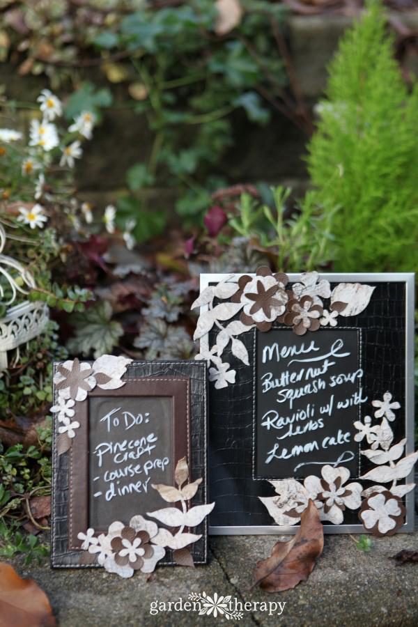 Garden Therapy Different Garden Ideas: Three Creative Ways To Use This DIY Birch Bark Picture