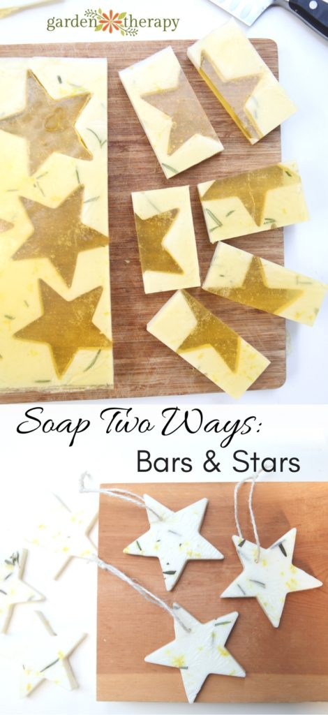 one soap project that makes soap two ways