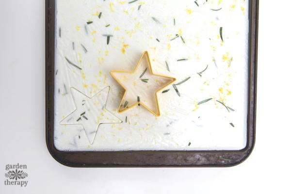 rosemary lemon soap-on-a-rope