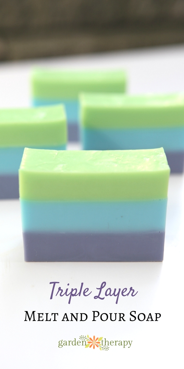How to make triple layer melt and pour soap that looks beautiful every time!