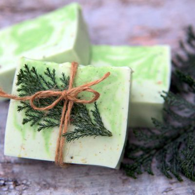 Fresh and Woodsy Winter Forest Soap Recipe