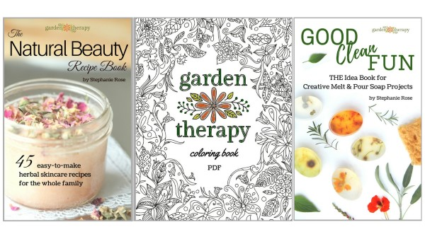 Creative eBooks from Garden Therapy