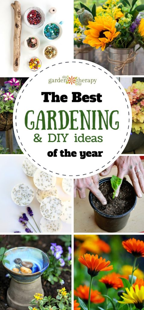best of garden therapy the 25 most popular garden projects crafts