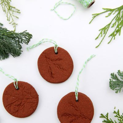 Fill Your Home With the Sweet Sweet Smell of Cinnamon Dough Ornaments