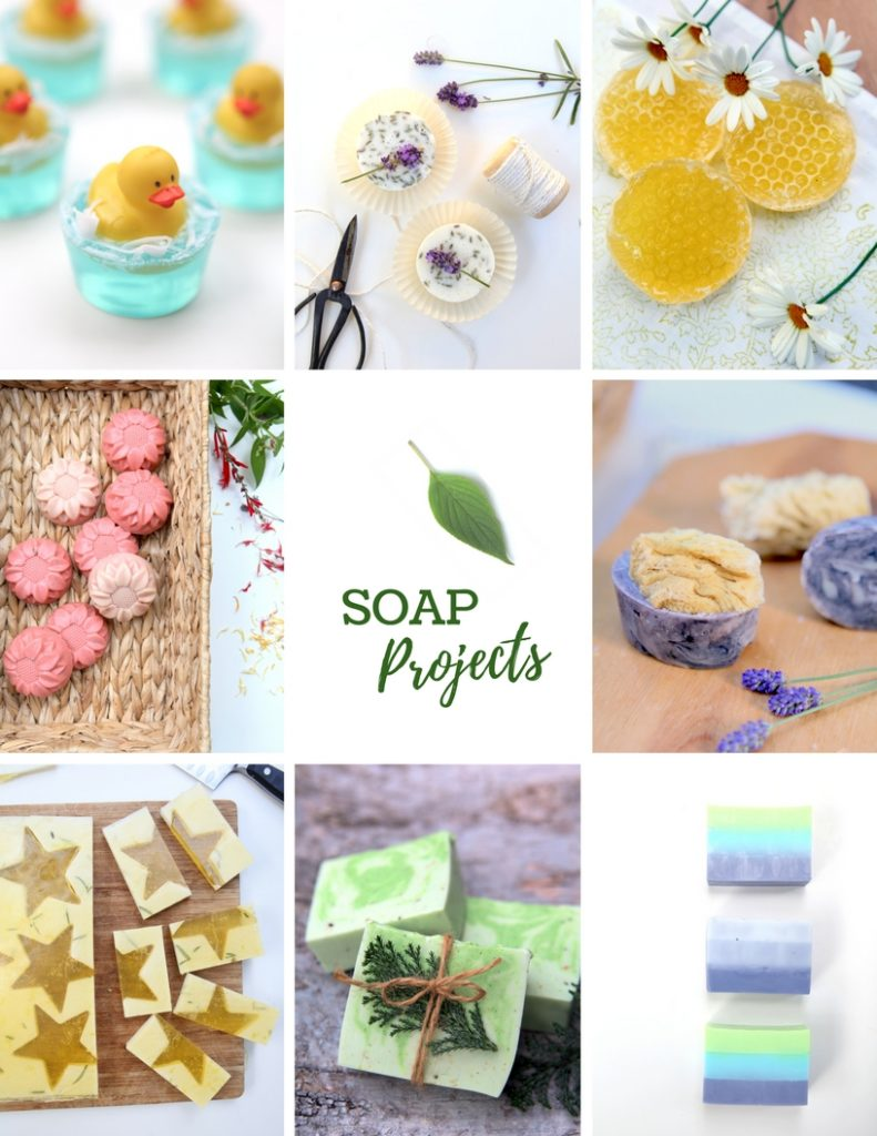 Soap projects from Good Clean Fun