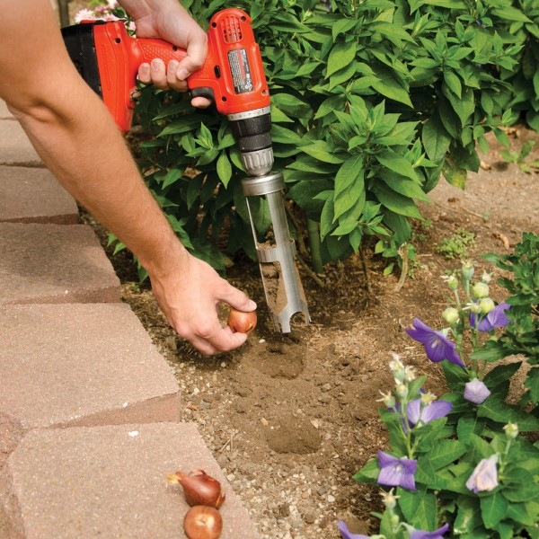 A Bulb Bopper helps you plant spring bulbs quickly and easily