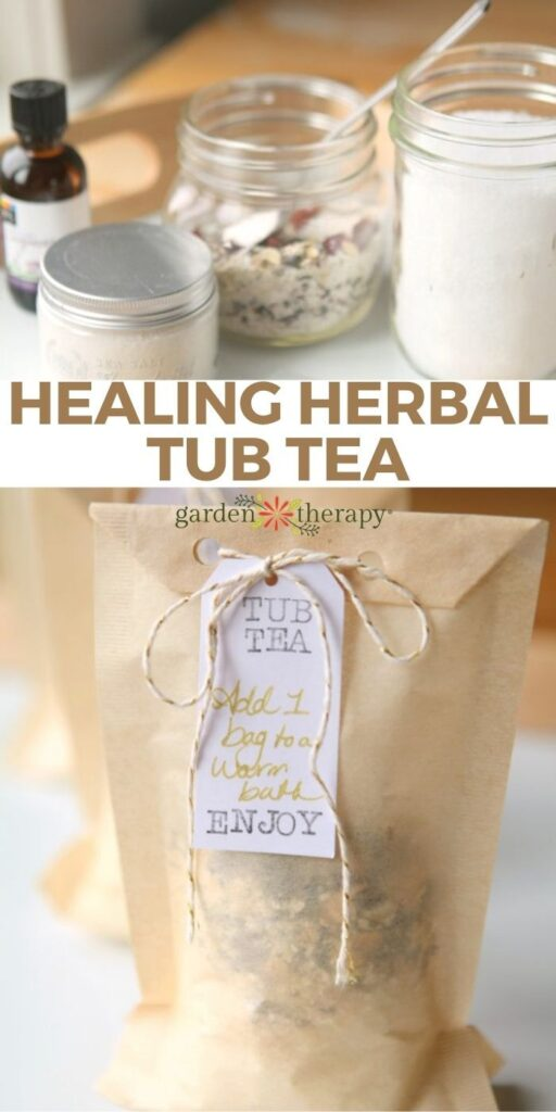 Soak Your Troubles Away with Homemade Bath Tea