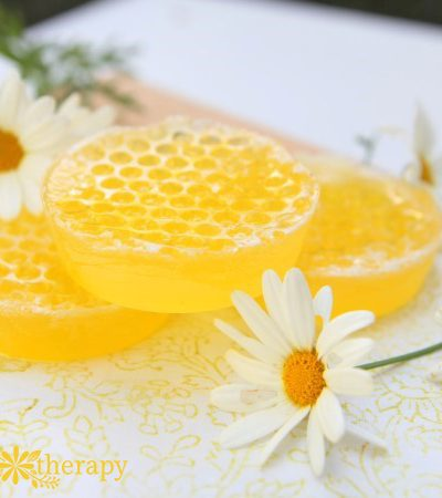 A Sweet Homemade Honeycomb Soap Recipe