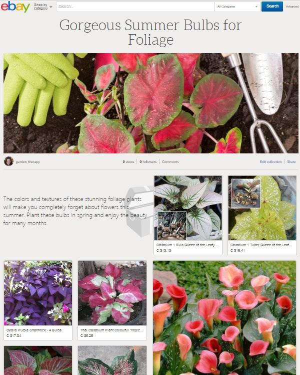 Gorgeous Foliage collection