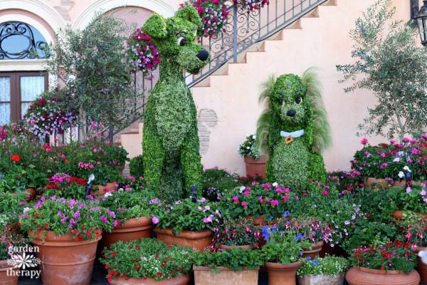 Disney Topiaries Tour Epcot International Flower and Garden Festival