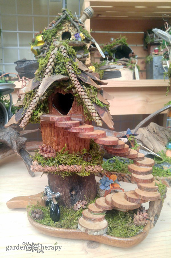 Foraged Fairy House Inspiration Gallery